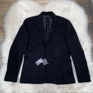 NWT Zara men's black blazer jacket sz XXL